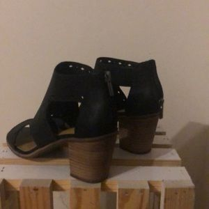 Women's open toed booties